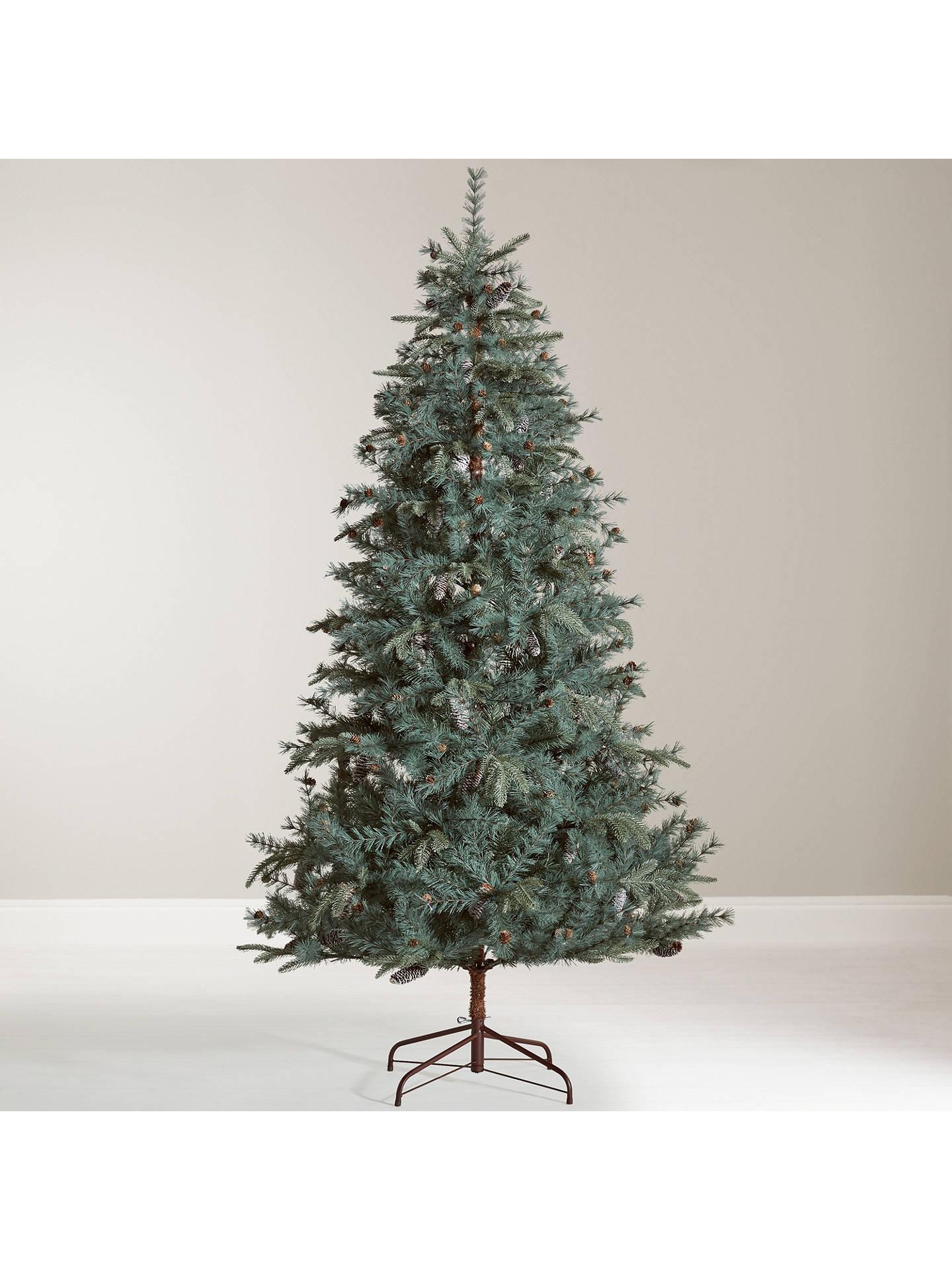 John Lewis & Partners Amber Highland Pine Unlit Christmas ...