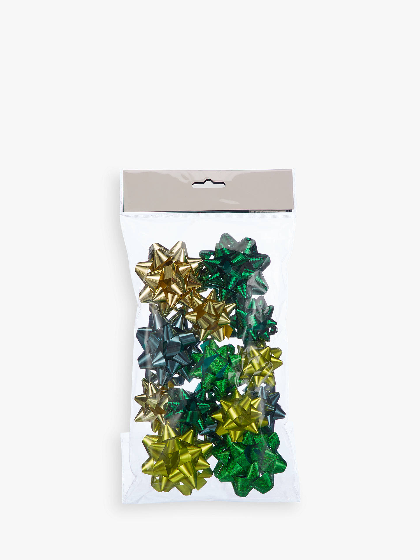 BuyJohn Lewis & Partners Emerald Assorted Gift Bows, Pack of 15 Online at johnlewis.com