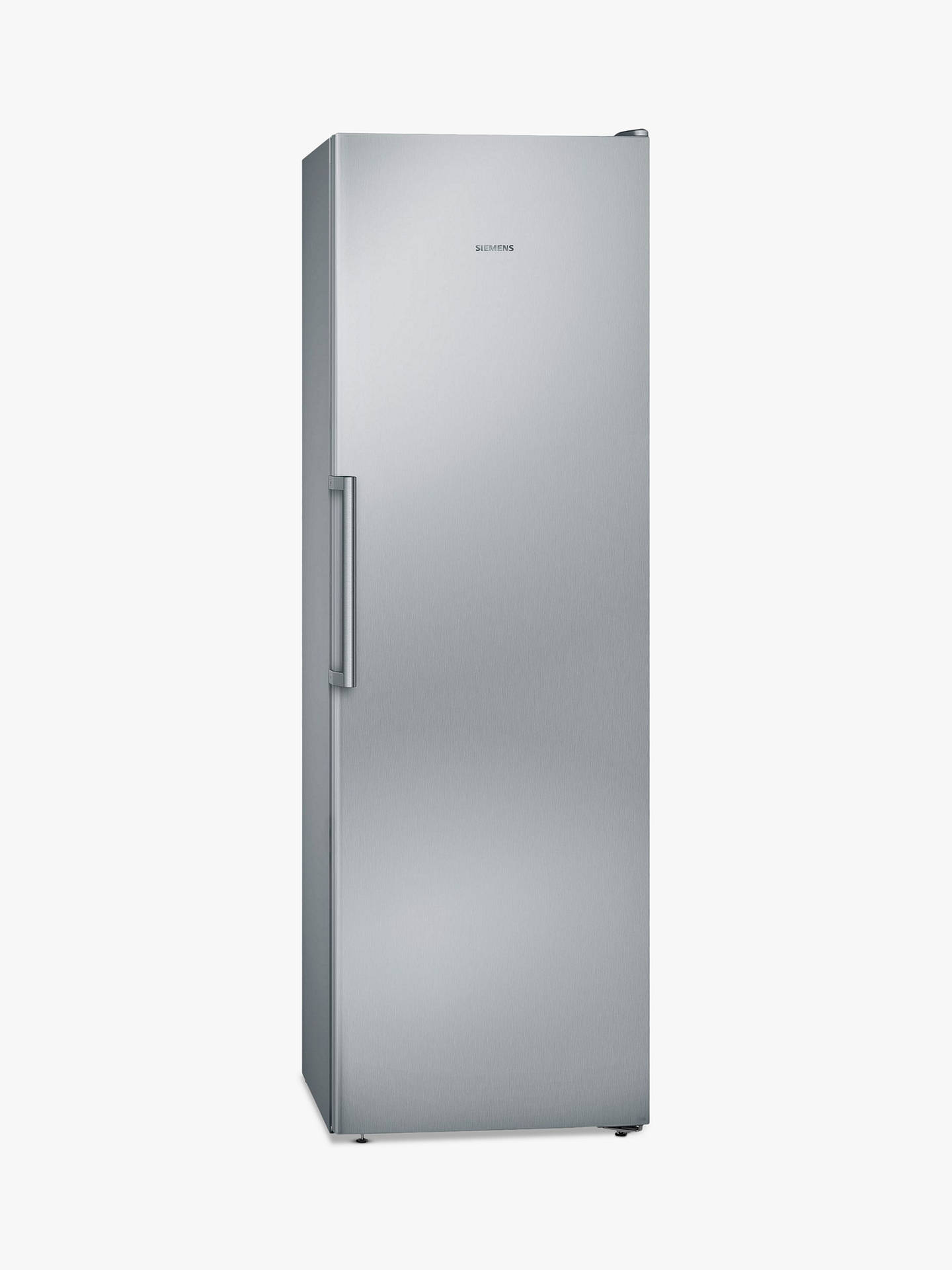 BuySiemens GS36NVI3PG Tall Freezer, A++ Energy Rating, 60cm Wide, Silver Chrome Online at johnlewis.com