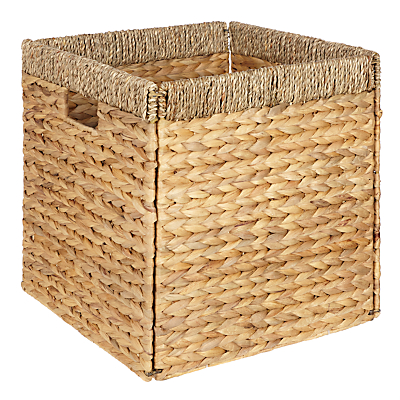 John Lewis & Partners Water Hyacinth Storage Box