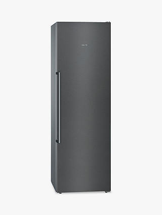 Buy Siemens GS36NAX3P Tall Freezer, A++ Energy Rating, 60cm Wide, Black Online at johnlewis.com