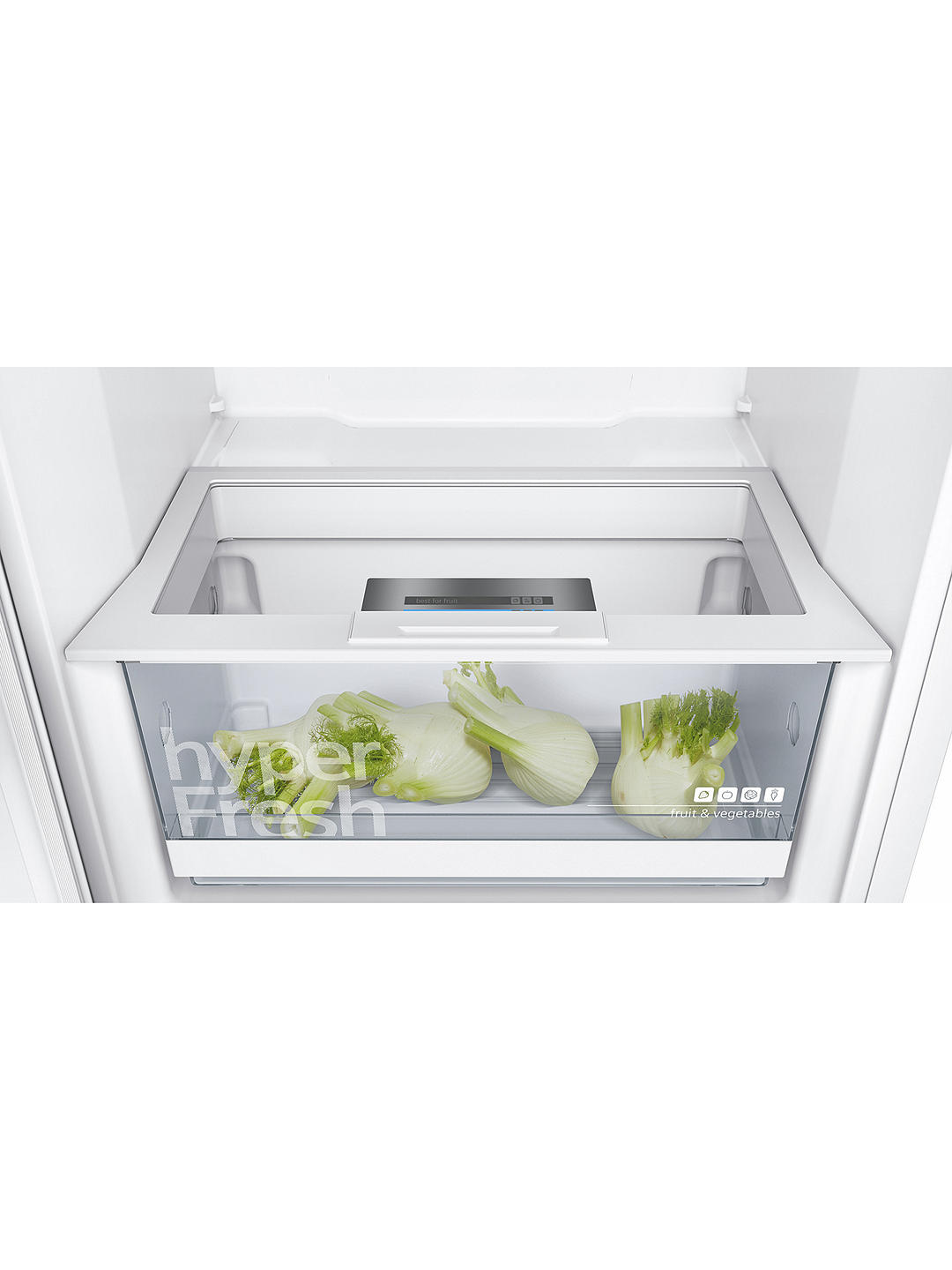 Buy Siemens KS29VVW3P Tall Larder Fridge, A++ Energy Rating, 60cm Wide, White Online at johnlewis.com