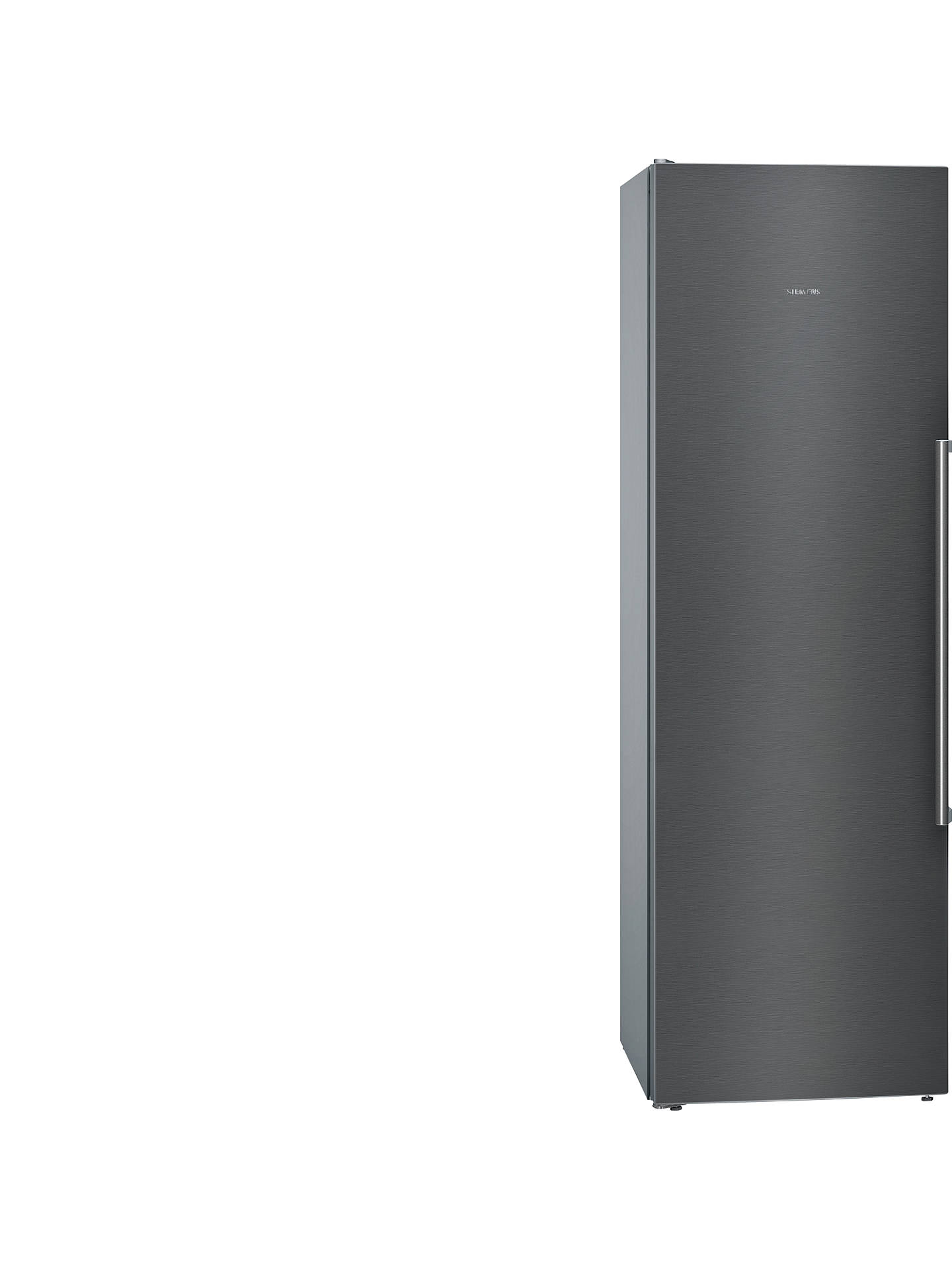 Buy Siemens KS36VAX3P Tall Larder Fridge, A++ Energy Rating, 60cm Wide, Black Online at johnlewis.com