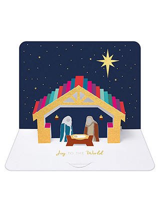 Buy Art File Nativity Christmas Cards, Pack of 5 Online at johnlewis.com