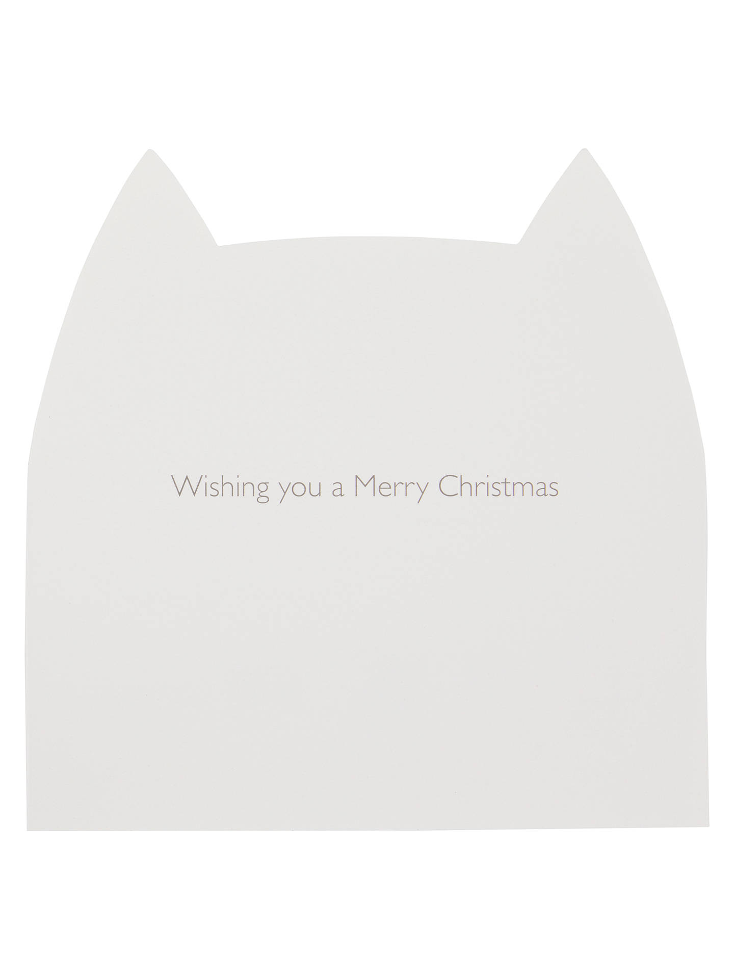 Buy John Lewis & Partners Christmas Cats Christmas Card, Pack of 10 Online at johnlewis.com
