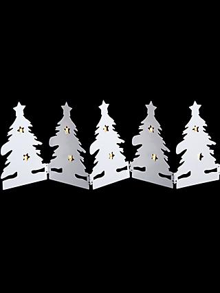 john lewis partners metal trees concertina light - Amazon Uk Outdoor Christmas Decorations