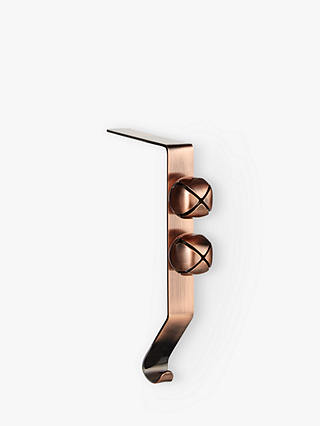 Buy John Lewis & Partners Copper Stocking Hooks, Pair Online at johnlewis.com