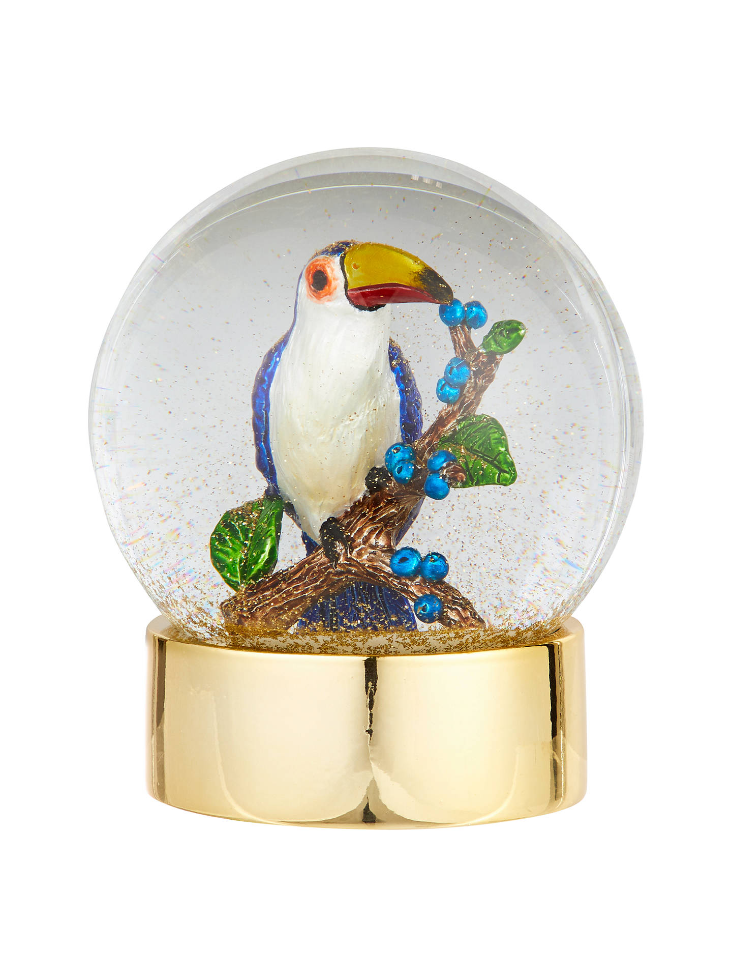 BuyJohn Lewis & Partners Emerald Toucan Snowglobe Online at johnlewis.com