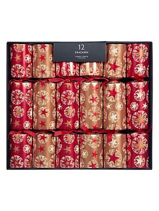 Christmas crackers buy luxury crackers at john lewis john lewis partners amber star luxury christmas crackers pack of 12 copper solutioingenieria Gallery