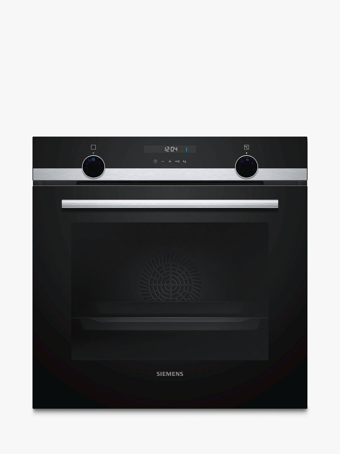 BuySiemens HB535A0S0B Built-In Single Oven, Stainless Steel Online at johnlewis.com