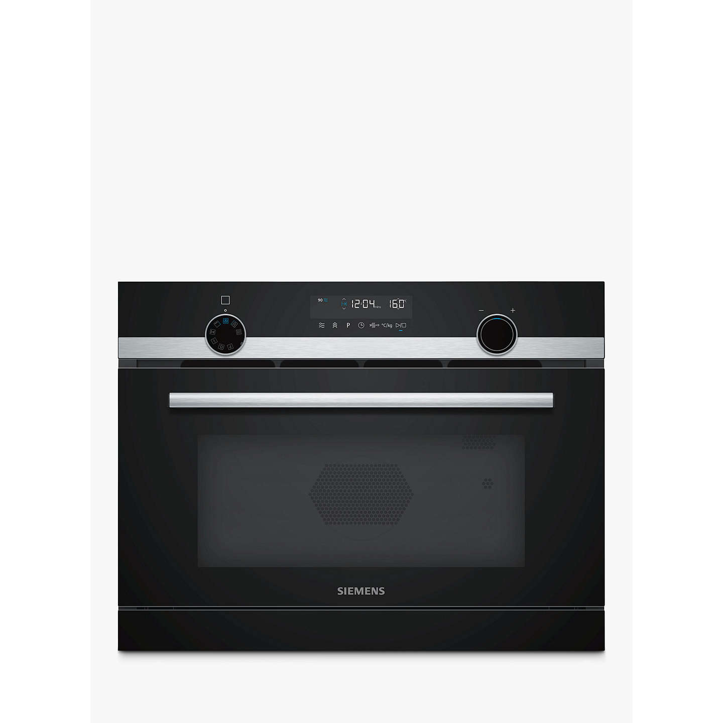 Siemens iQ500 CP565AGS0B Built-In Combination Microwave with Steam ...
