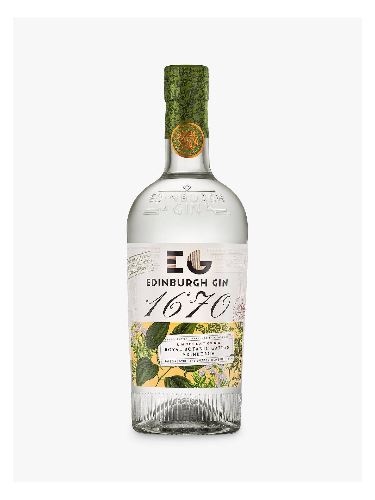 BuyEdinburgh Gin 1670, 70cl Online at johnlewis.com