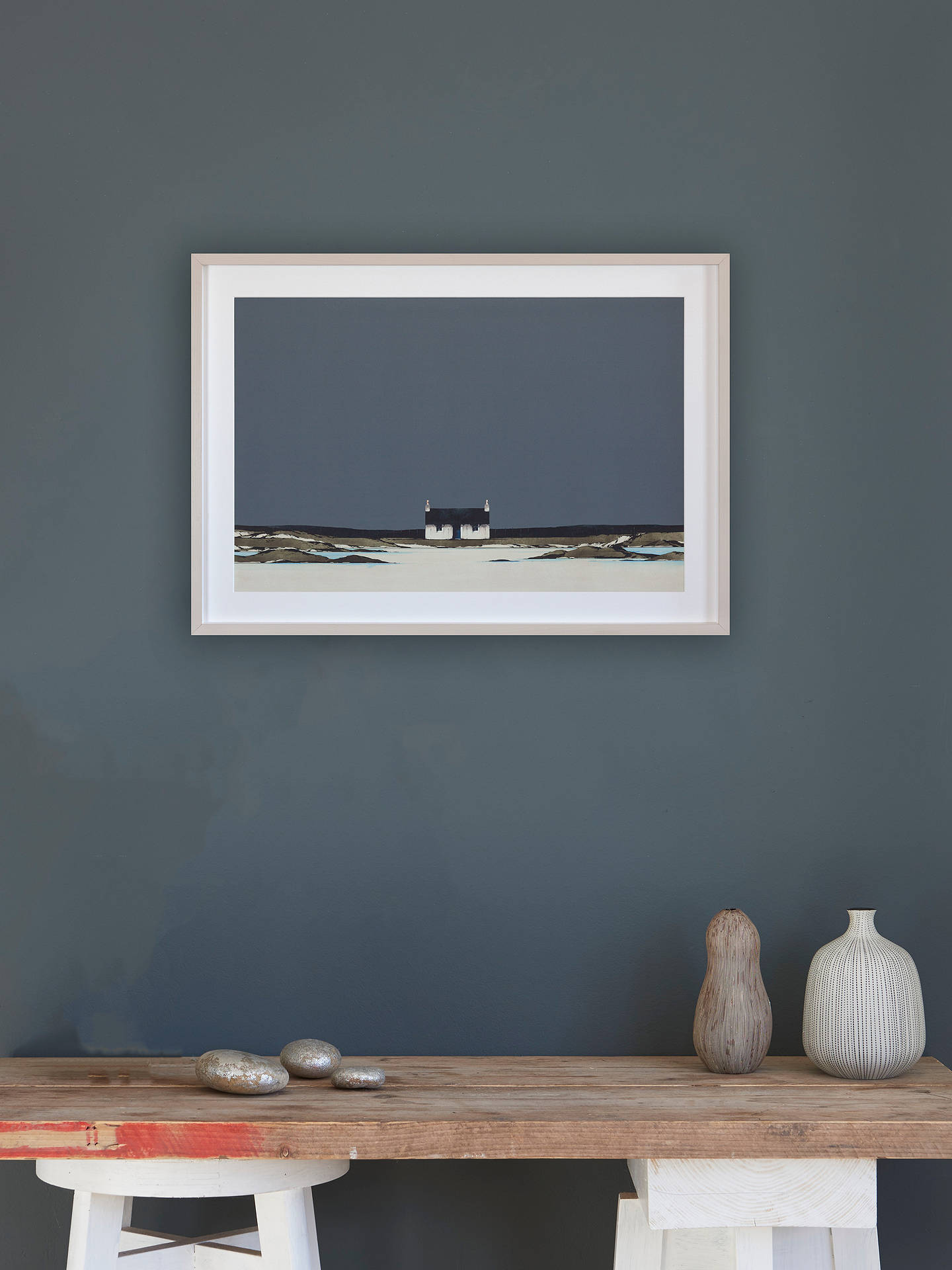 Buy Ron Lawson - Fidden Bay Mull Framed Print & Mount, 55 x 78cm Online at johnlewis.com
