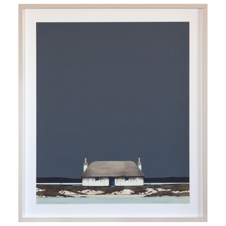 Unbranded Ron Lawson - Hebridean Blackhouse Framed Print & Mount, 68 x 78cm