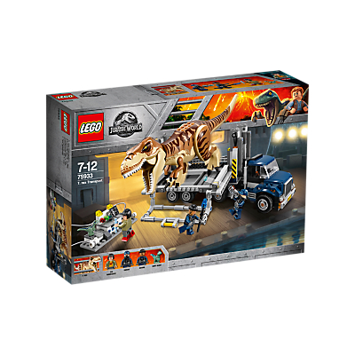 LEGO 75933 Jurassic World T Rex Transport