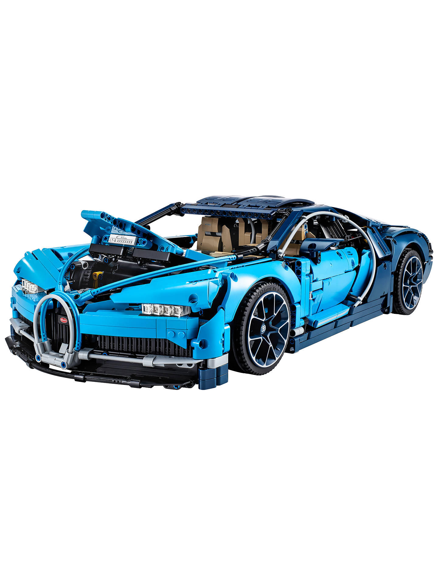 BuyLEGO Technic 42083 Bugatti Chiron Supercar Online at johnlewis.com