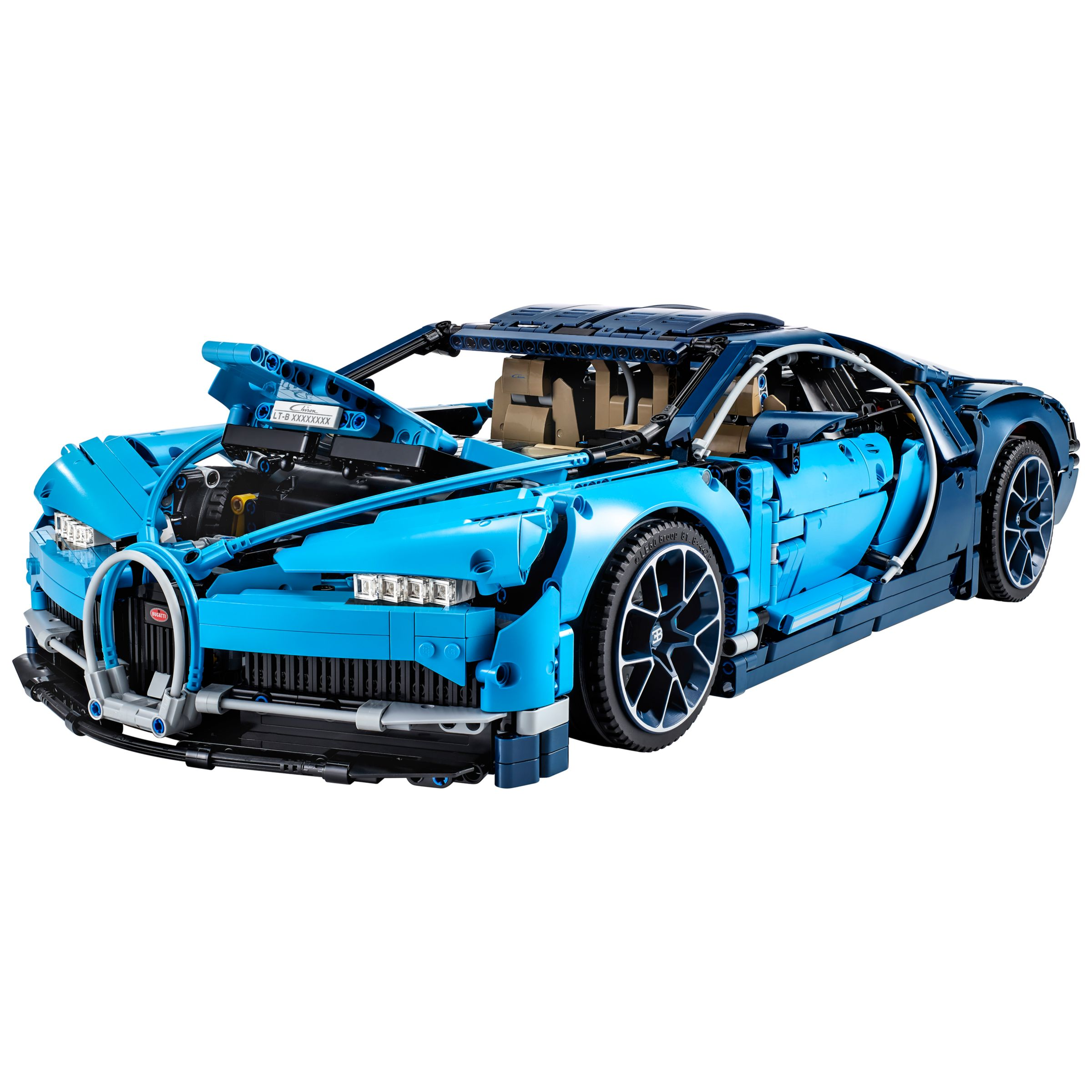 Lego Technic 42083 Bugatti Chiron Supercar At John Lewis Partners