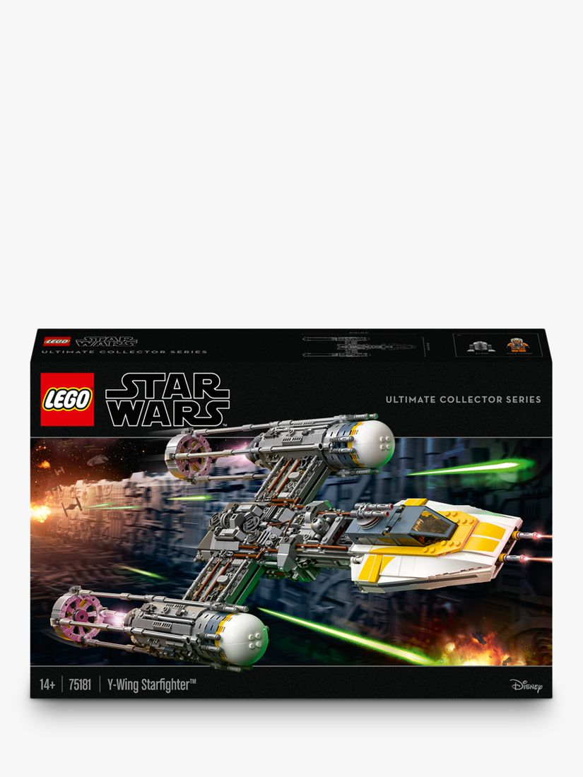 Lego Star Wars 75181 Y Wing Starfighter At John Lewis Partners