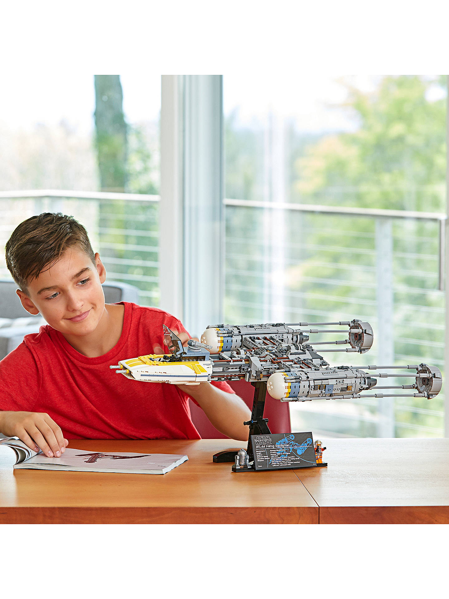 Buy LEGO Star Wars 75181 Y-Wing Starfighter Online at johnlewis.com