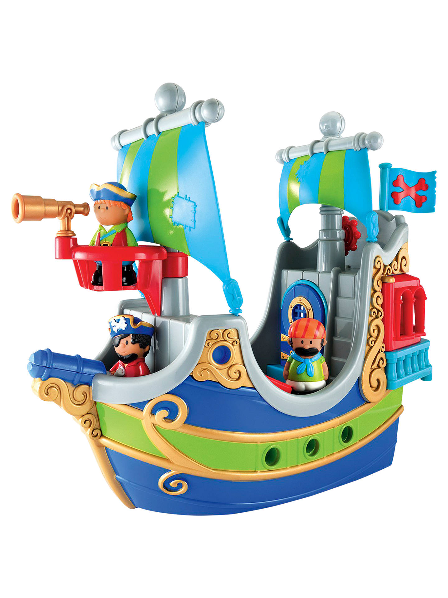 Early Learning Centre Happyland Pirate Ship At John Lewis Partners Diagram With Labels Google Search Pirates Ships Buyearly Online