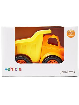 Buy John Lewis & Partners Dump Truck Vehicle Online at johnlewis.com