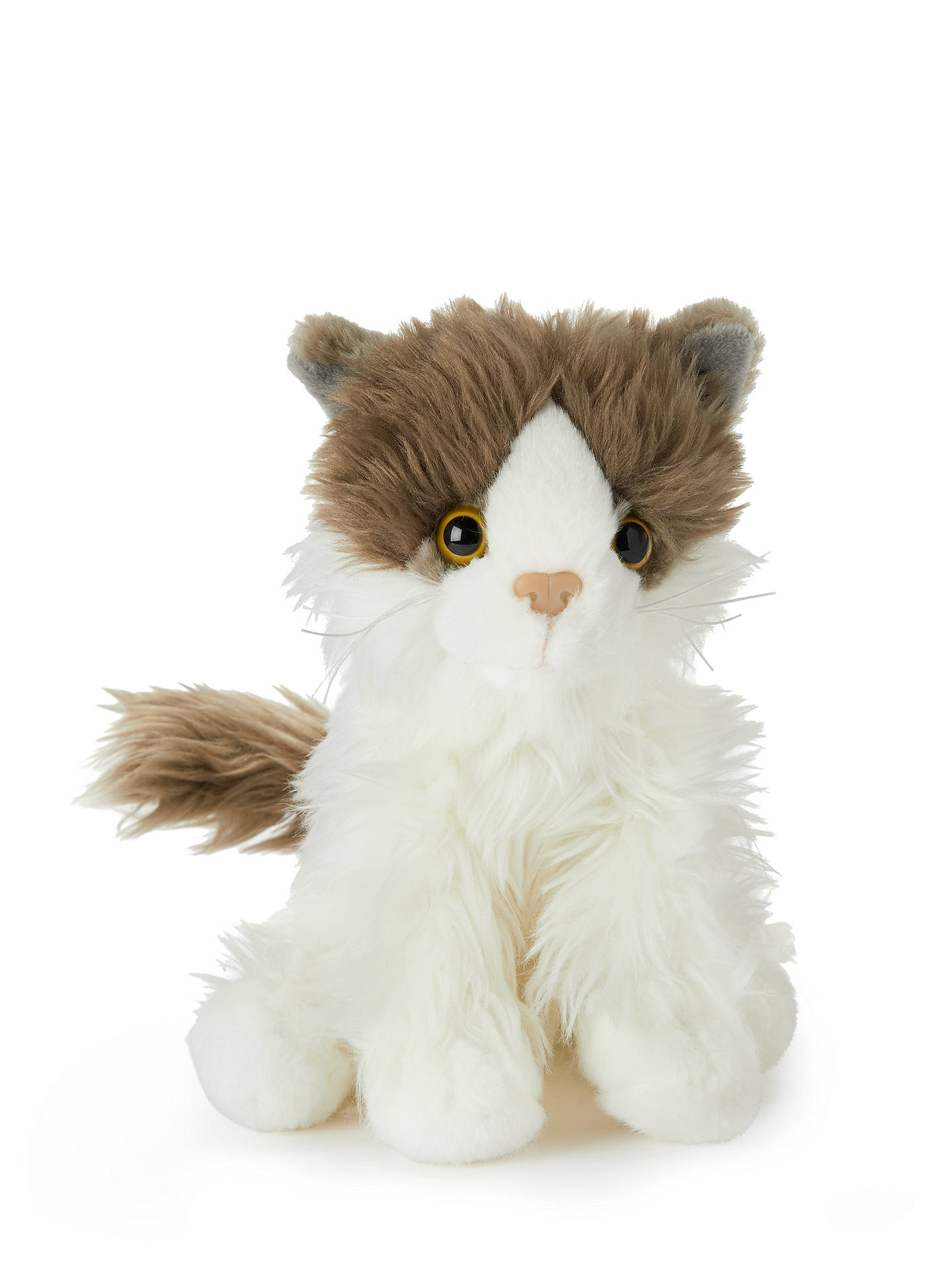 Buy John Lewis & Partners Fluffy Cat Soft Toy Online at johnlewis.com