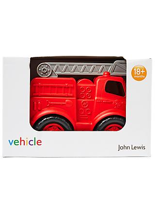 John Lewis & Partners Fire Engine Vehicle
