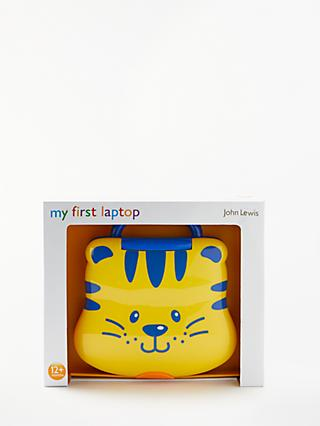 John Lewis & Partners My First Tiger Laptop