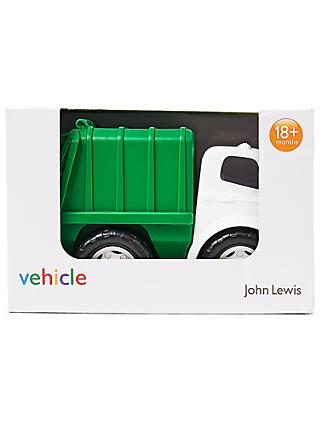 John Lewis & Partners Recycling Truck Vehicle