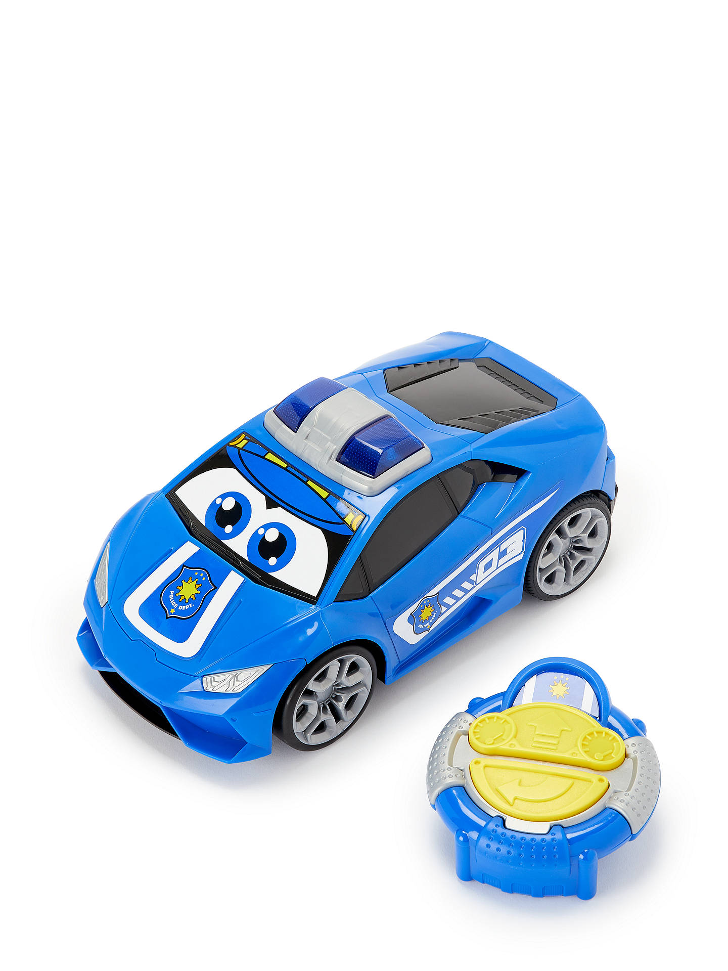 Buy John Lewis & Partners My First Remote Control Police Car Online at johnlewis.com