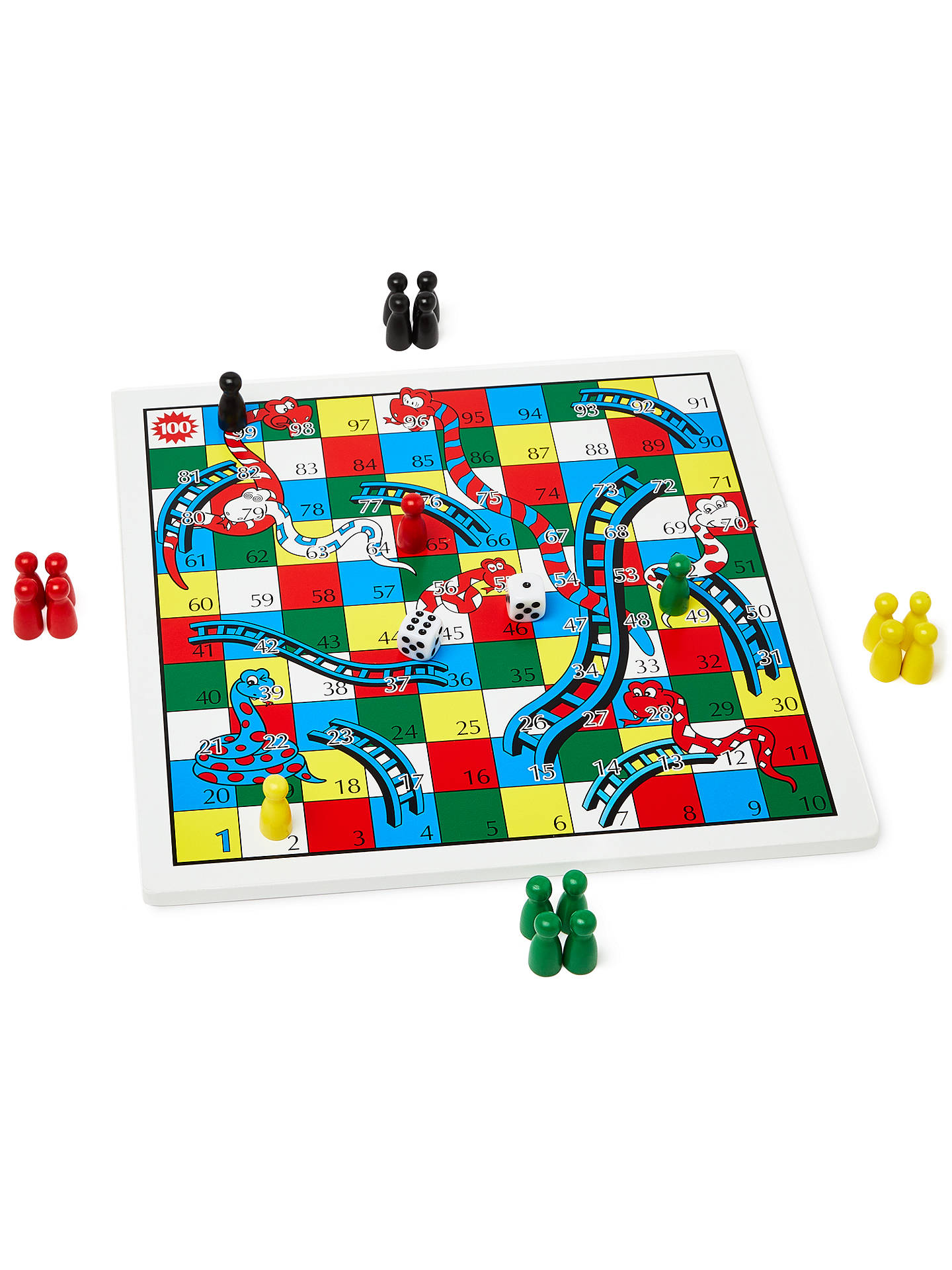 dc9eb364b519 ... Buy John Lewis & Partners Snakes and Ladders and Ludo Game Online at  johnlewis.com