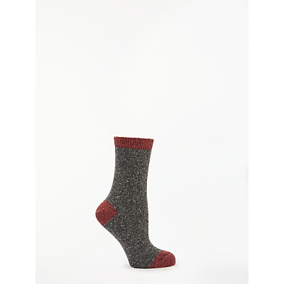 Image of John Lewis & Partners Colour Block Ankle Socks