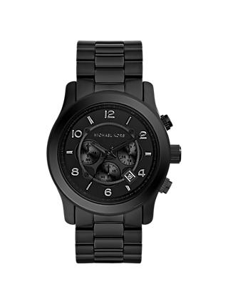 6da16f450334 Michael Kors MK8157 Men s Runway Chronograph Date Bracelet Strap Watch
