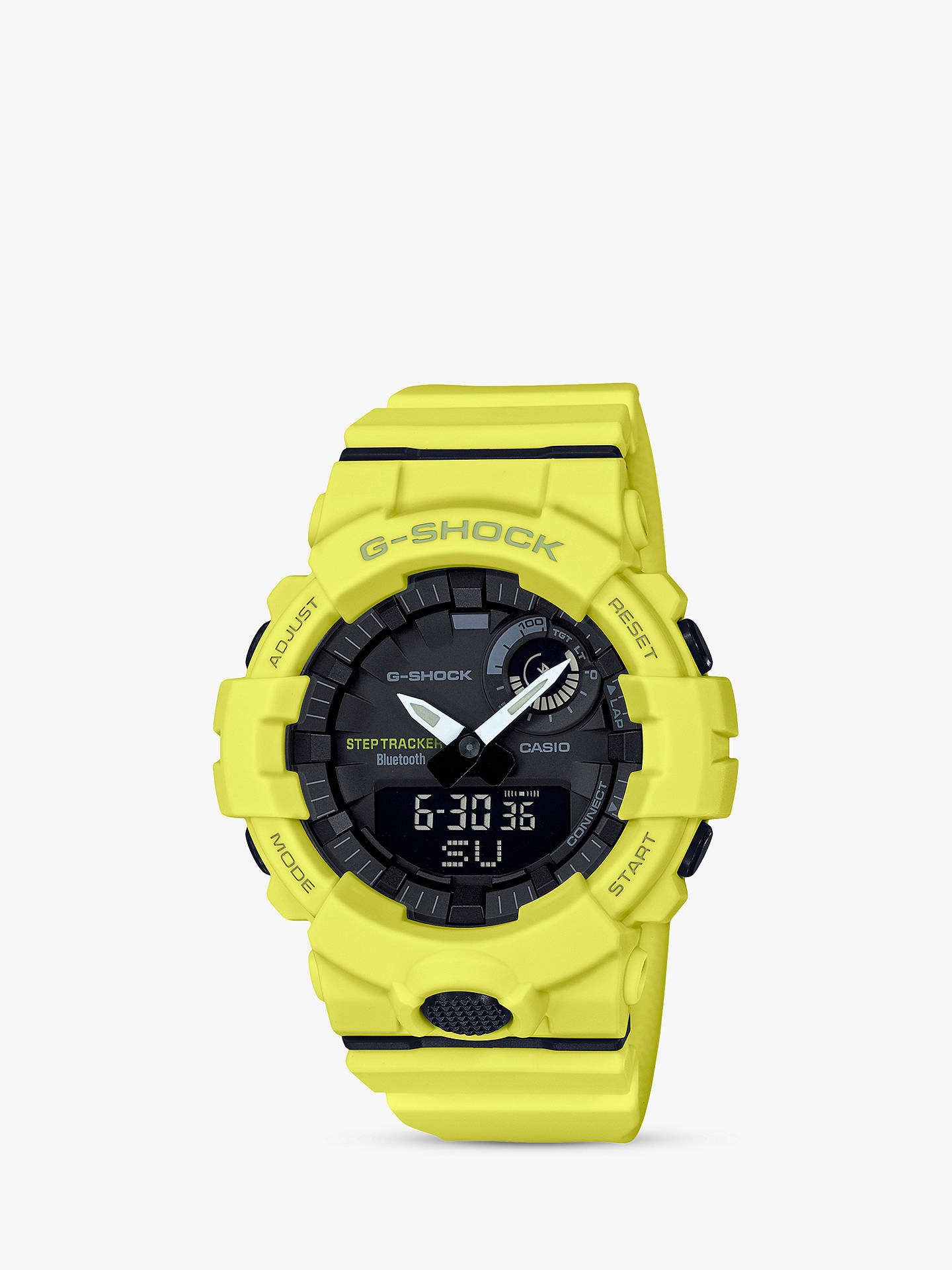 7c11fd22f04c Buy Casio Men's G-Shock Step Tracker Bluetooth Resin Strap Watch,  Yellow/Black ...