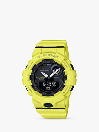 Casio Men's G-Shock Step Tracker Bluetooth Resin Strap Watch