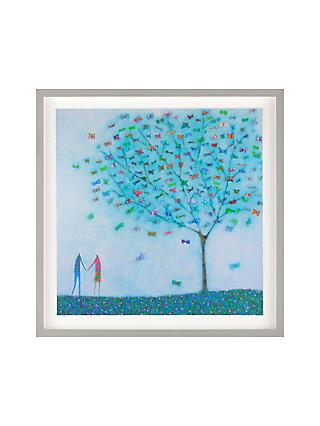 Emma Brownjohn - My Love Framed Print & Mount, 50 x 50cm