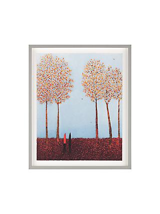 Emma Brownjohn - The Smell Of Woodsmoke Framed Print & Mount, 61 x 50cm