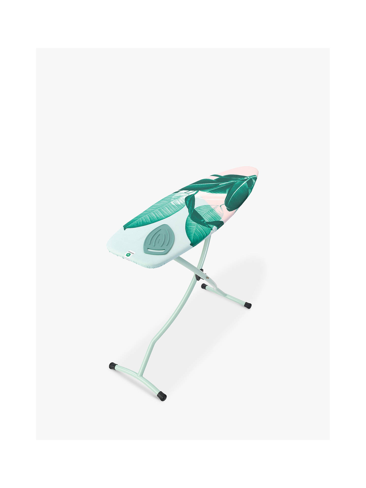 Buy Brabantia Tropical Leaves Ironing Board, L135 x W45cm Online at johnlewis.com
