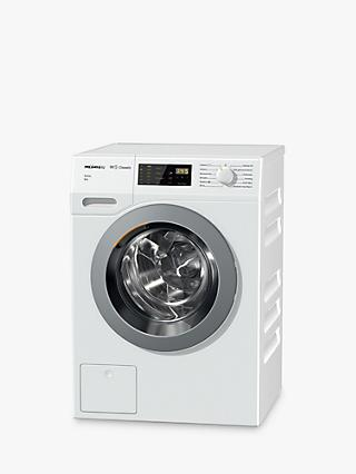 Miele WDB038WPS Freestanding Washing Machine with Waterproof Protection System, 7kg Load, A+++ Energy Rating, 1400rpm Spin, White