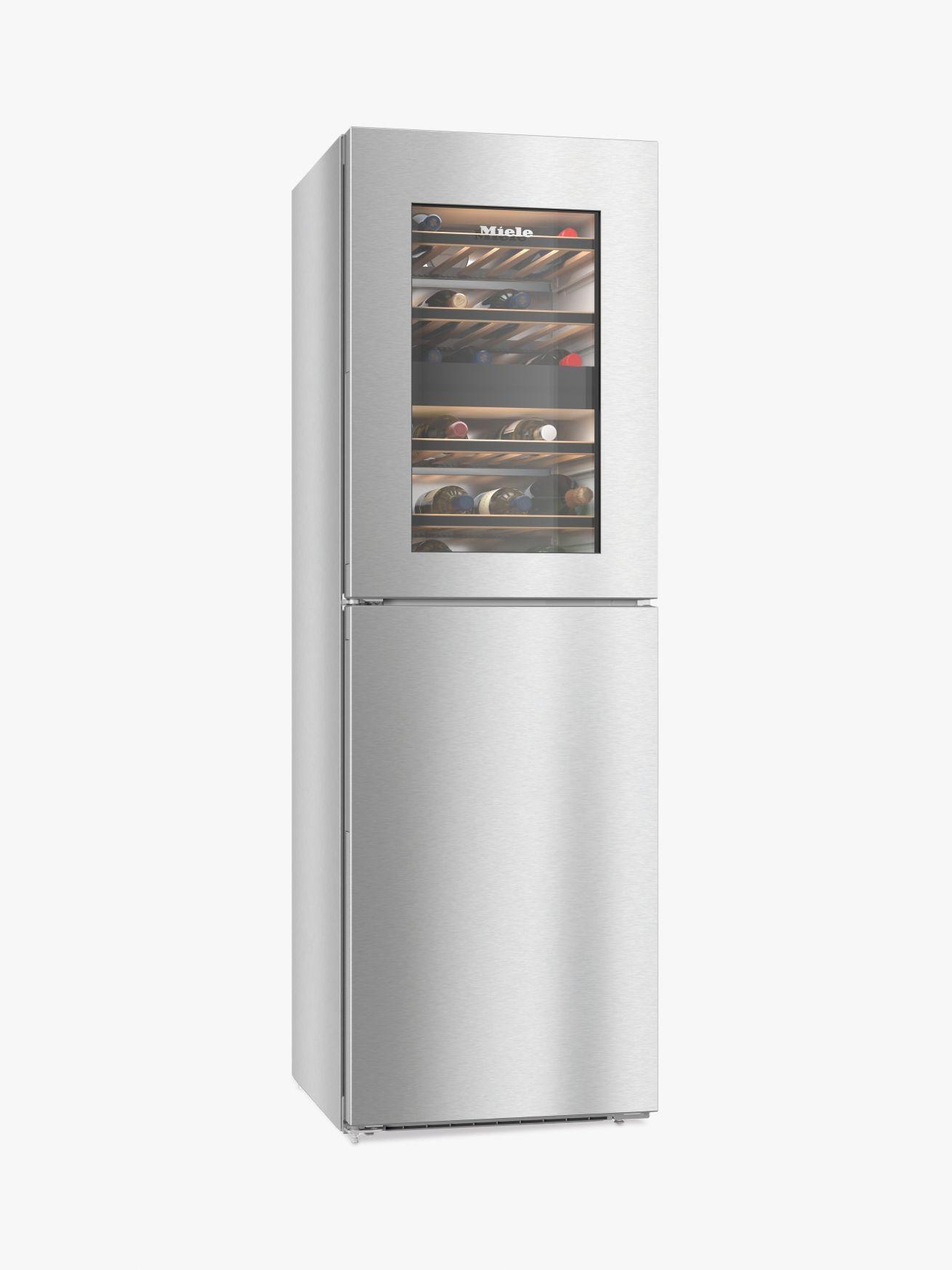 Miele Miele KWNS28462E Freestanding Fridge Freezer, A++ Energy Rating, Silver