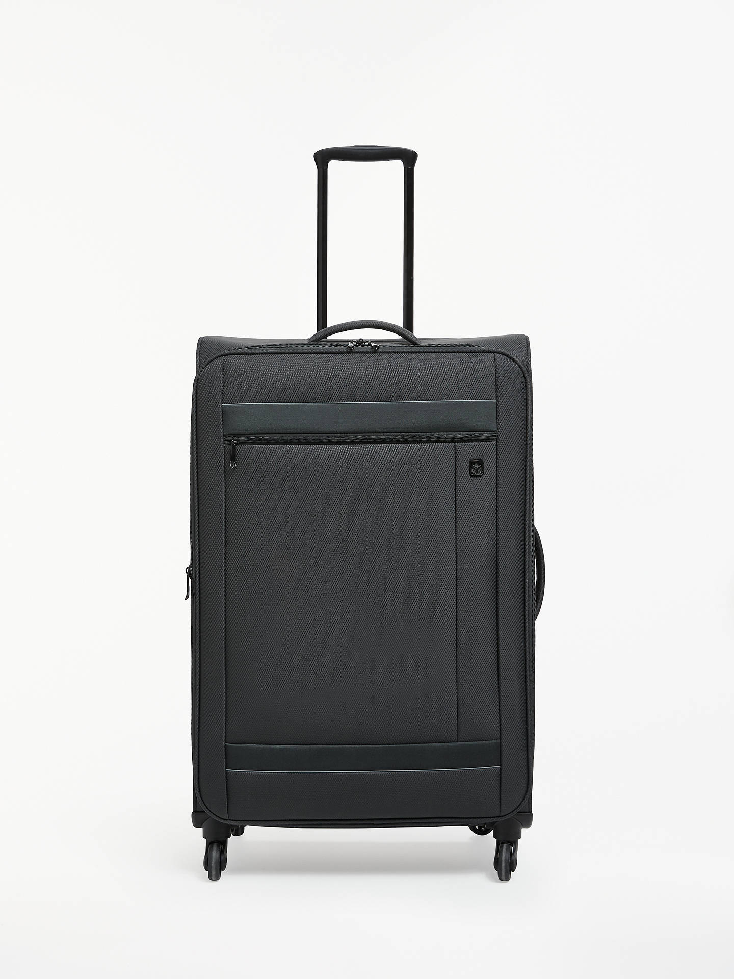 Buy Qubed Angle 4-Wheel 75cm Large Case, Black Online at johnlewis.com