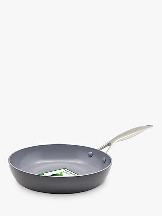 GreenPan Venice Pro Extra Ceramic Non-Stick Try Me Frying Pan, 26cm