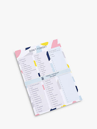 Buy Busy B Travel Checklist Online at johnlewis.com