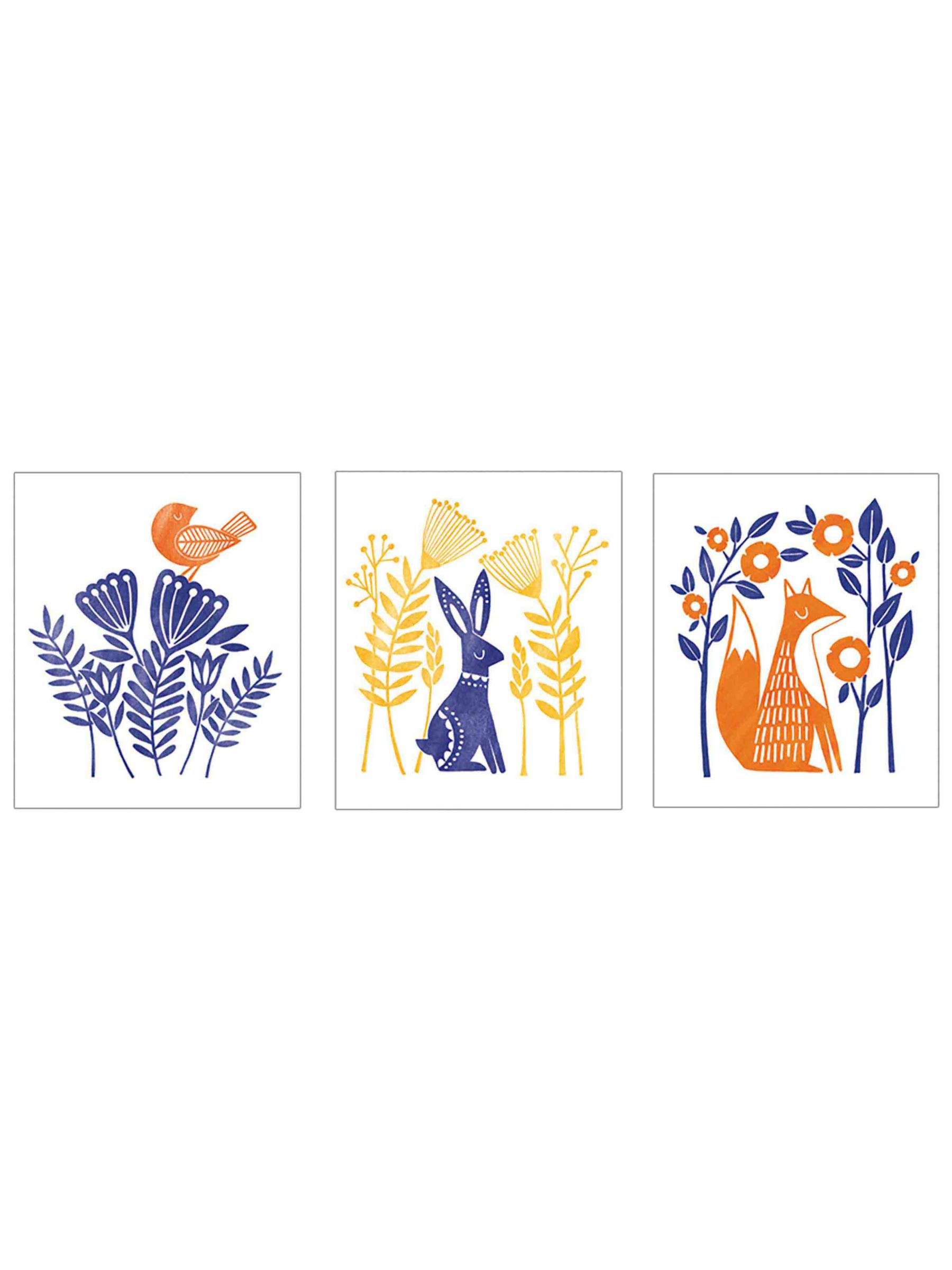Art File Art File Animal Stamp Notecards, Pack of 12