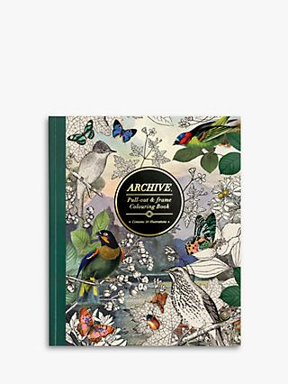 Archive Colouring Book