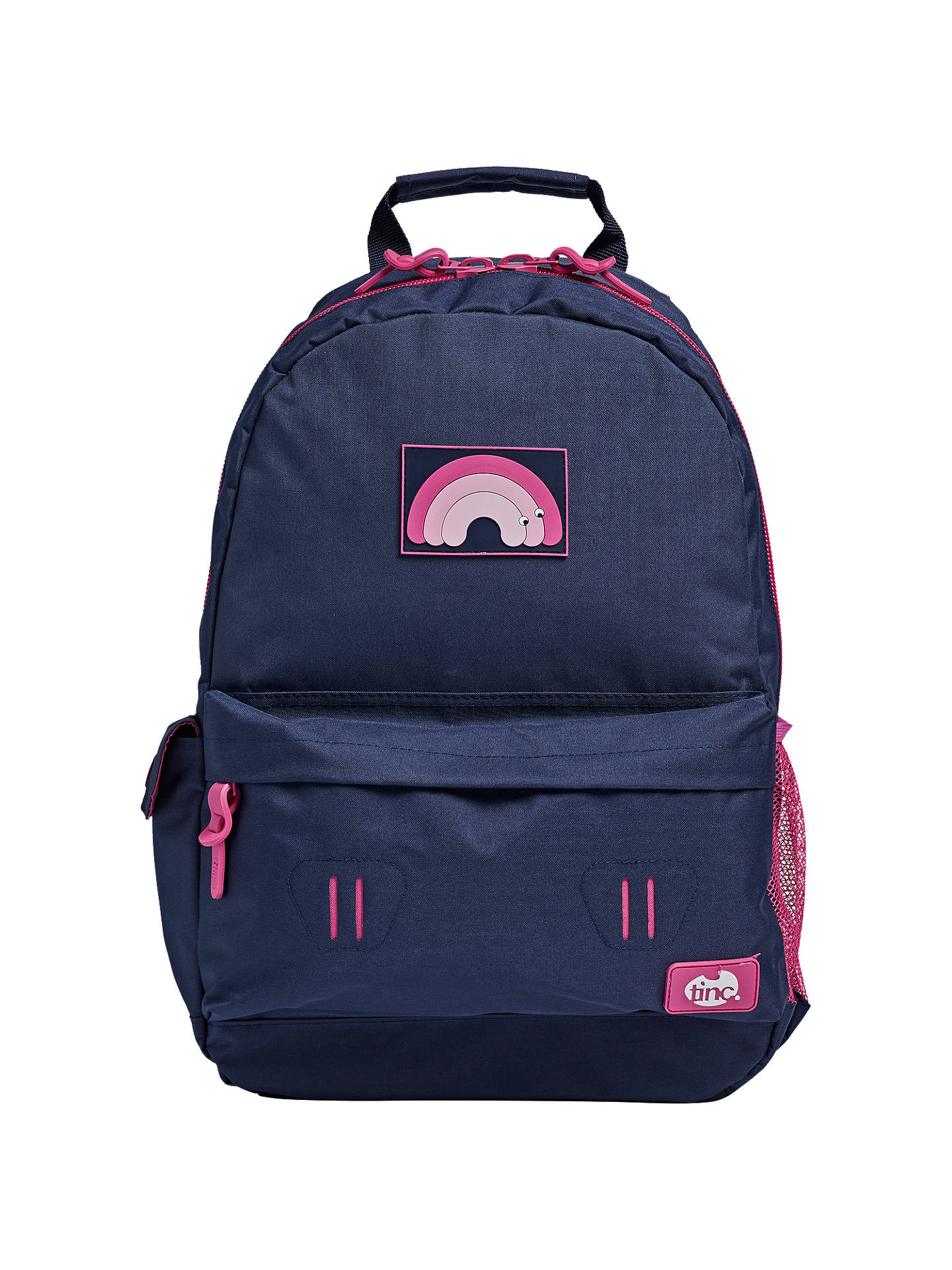 BuyTinc Mallo Adventure Backpack, Navy/Pink Online at johnlewis.com