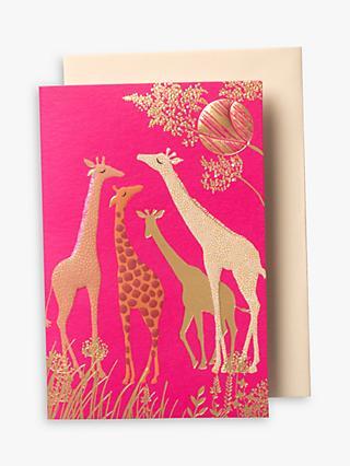 Notecards invitations john lewis sara miller giraffe notecards pack of 10 stopboris Image collections