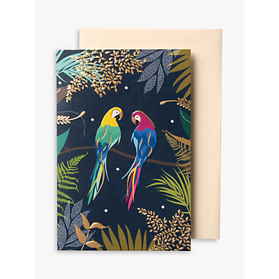 Image of Sara Miller Parrots Notecards, Pack of 10