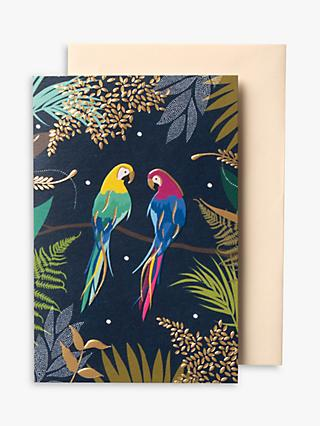 Sara Miller Parrots Notecards, Pack of 10