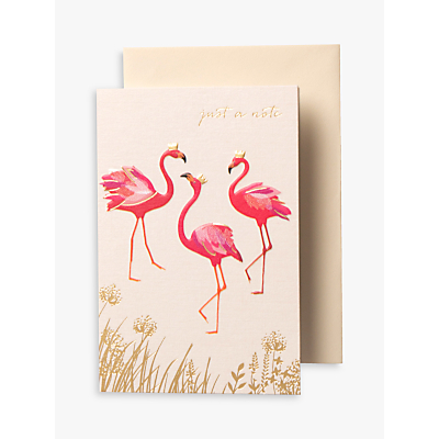 Image of Sara Miller Flamingo Notecards, Pack of 10
